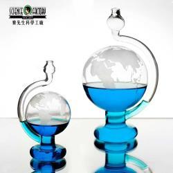 Mr.Sci賽先生玻璃氣壓球晴雨儀CNY120712迷你版氣象科學儀天氣儀氣候儀大氣壓力球晴雨球氣象儀氣壓計