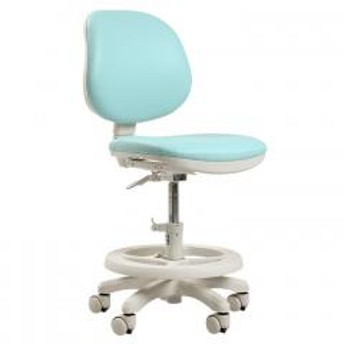 学習椅子 学習チェア 勉強椅子 勉強チェア キャスター付き チェア 椅子 Swan(スワン) PVC ブルー