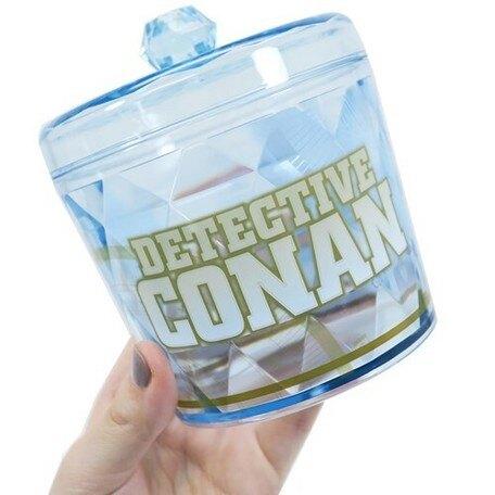 大賀屋 日貨 名偵探柯南 閃光罐 收納罐 罐子 小罐 珠寶盒 食物罐 儲存罐 雜物罐 禮物 正版 J00018500