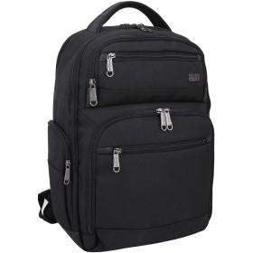 YINDIAN ビジネスバックパック男女兼用大容量完全防水15.6インチPCストレージ軽量多機能複数のポケット旅行カバ 鞄 通勤 通学 出張バックパック3色(ブラック)