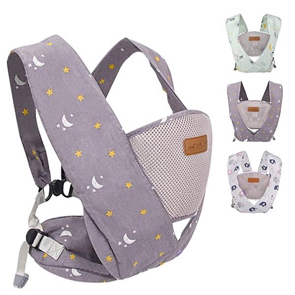 嬰兒背帶背巾 透氣減壓背巾 環抱式 X型交叉可調整揹巾 C型保護揹巾 ABY1181 好娃娃