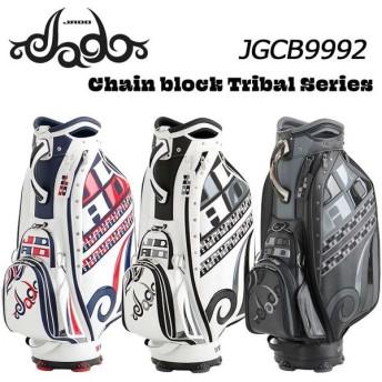 ジャド JGCB9992 Chain block Tribal シリーズ キャディバッグ 9.5型 4.5kg JADO 2020