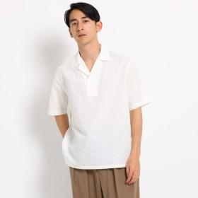 DRESSTERIOR(Men)(ドレステリア:メンズ)/【洗える】リネンコットン開襟シャツ
