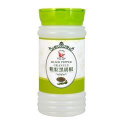 【飛馬】粗粒純黑胡椒‧Black Pepper Granule‧全素或純素‧300g