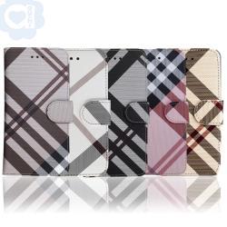 Aguchi 亞古奇 Apple iPhone 11 Pro 5.8吋 英倫格紋氣質手機皮套 側掀磁扣支架式皮套 矽膠軟殼 5色可選