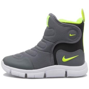 キッズ 【NIKE】 ナイキ NOVICE BOOT (PS) 17-22 ノーヴィス ブーツ PS AV8339-001 002COL GY/VOLT 21cm