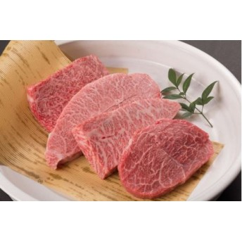 鳥取和牛 希少部位のステーキセット(株式会社 あかまる牛肉店)