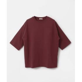 [アーバンリサーチ ドアーズ] tシャツ FORK&SPOON ヘビーウェイト天竺 5分袖Tシャツ メンズ BURGUNDY 4