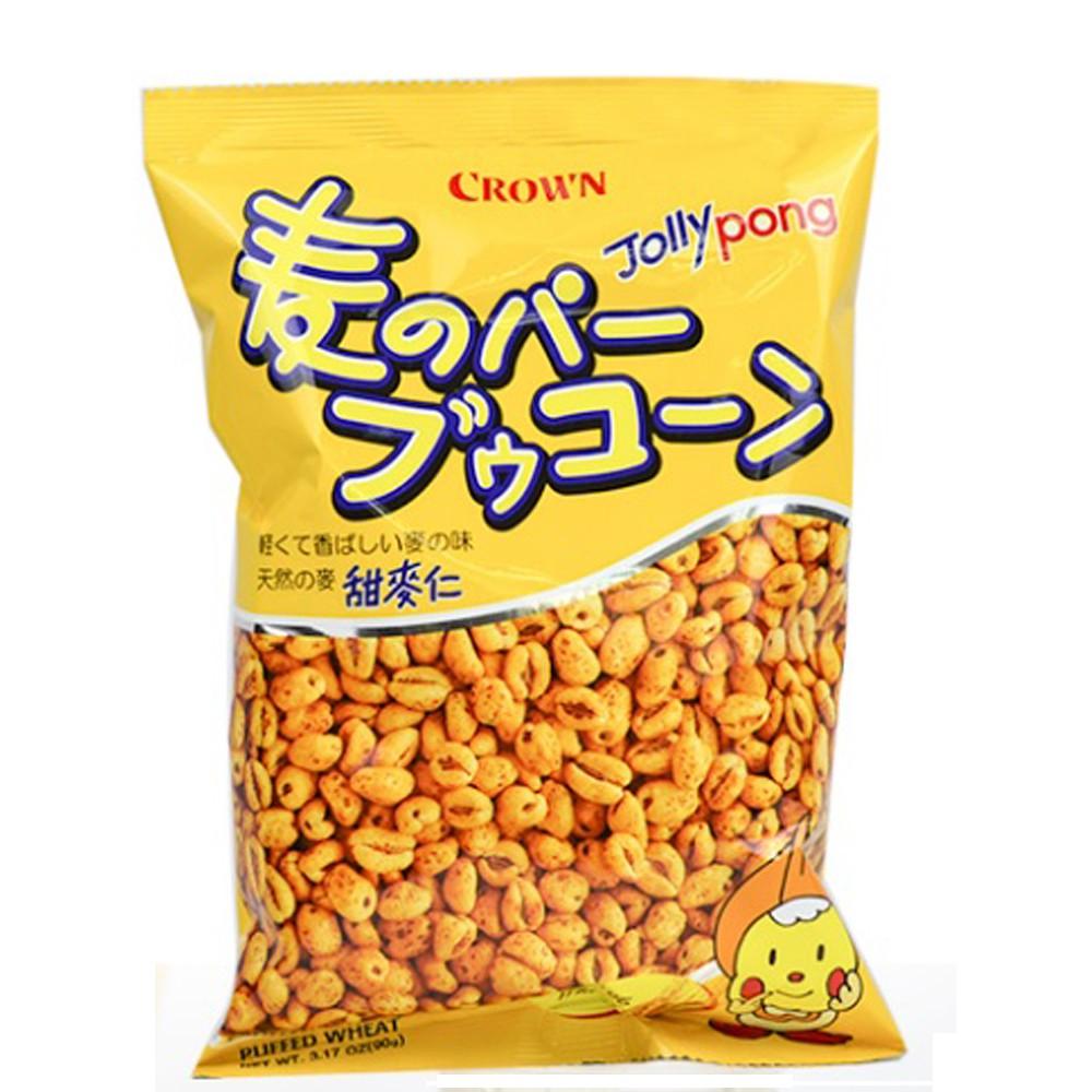 CROWN皇冠原味甜麥仁 90g【美日多多】