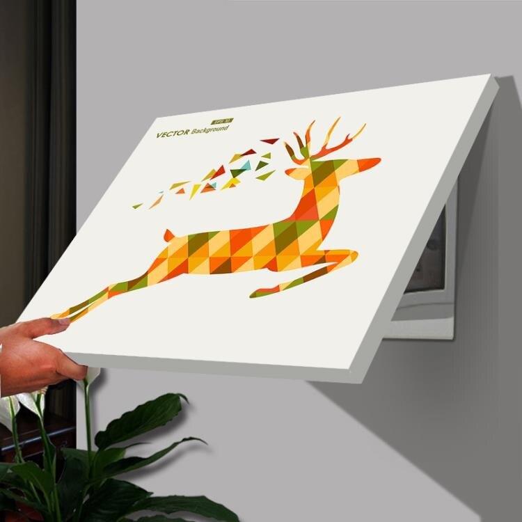 電表箱裝飾畫 遮擋箱配電箱電閘盒簡約現代掛畫壁畫30x30(遮擋25x25)WY【快速出貨】