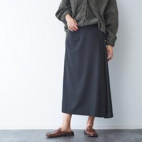 Rouge vif(ルージュ・ヴィフ)/サキソニーポケット付スカート