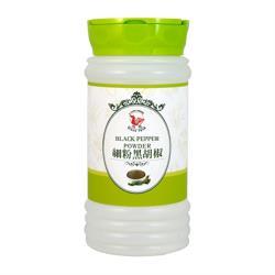 【飛馬】細粉純黑胡椒‧Black Pepper Powder‧全素或純素‧300g