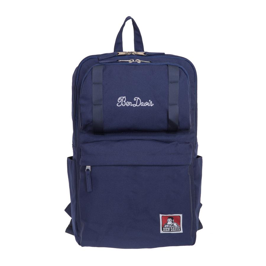 【BEN DAVIS】日本潮流後背包-藍色 BDW-9062NY