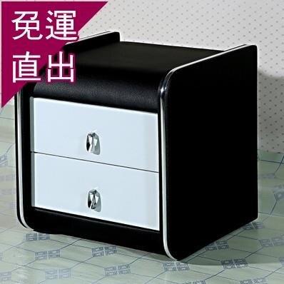 床頭櫃 JF熱賣皮質床頭柜簡約現代收納柜子整裝臥室儲物柜歐式皮藝床邊柜