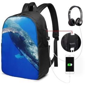 バックパック USB ポート搭載 17インチPC対応 ザトウクジラ36 大容量ビジネスリュック 通勤 通学 出張 旅行 メンズ レディース
