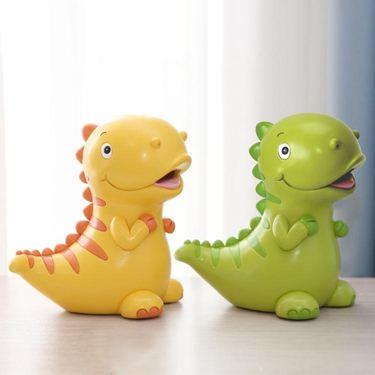 小恐龍存錢罐兒童韓國創意卡通儲蓄罐儲錢罐可愛擺件結婚生日禮物