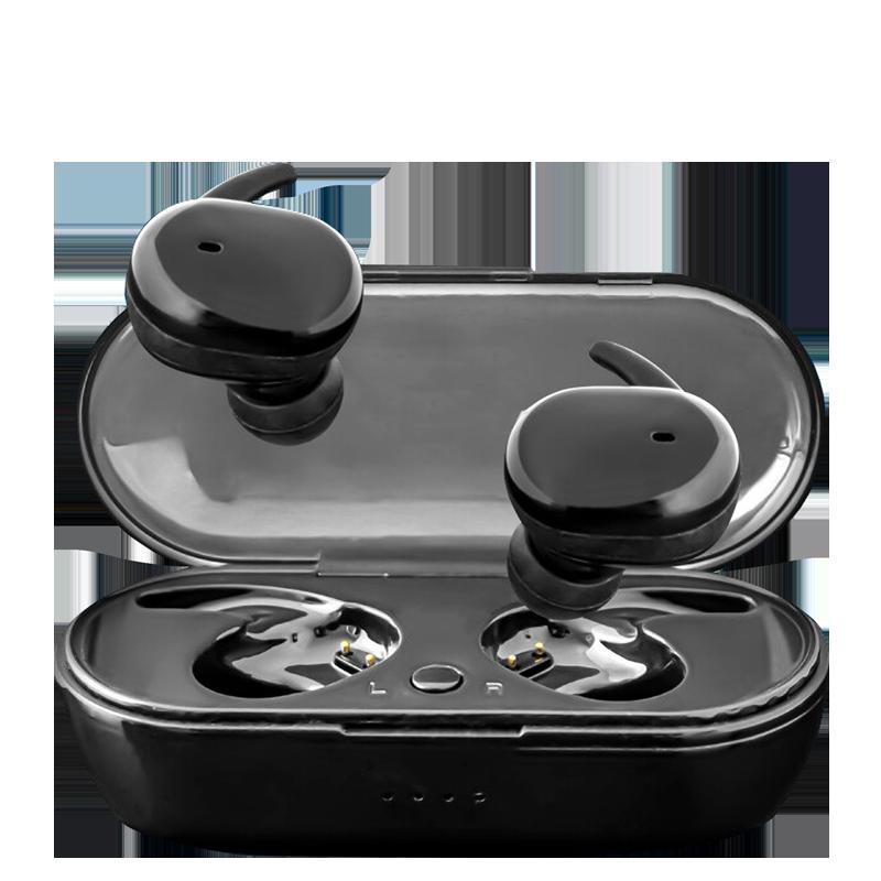 【觸控式真無線防水防汗藍芽耳機】藍芽耳機 防水耳機 運動耳機 立體聲耳機 磁吸耳機 藍牙耳機 無線耳機【AB474】