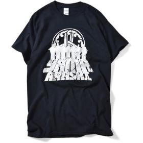 山嵐 7 SAMURAI TEE 半袖 Tシャツ BLACK ブラック