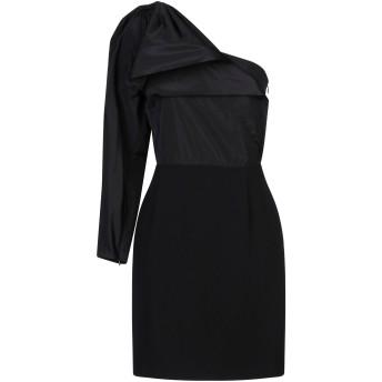 《セール開催中》STELLA McCARTNEY レディース ミニワンピース&ドレス ブラック 40 レーヨン 64% / アセテート 32% / ポリウレタン 4% / ポリエステル / シルク
