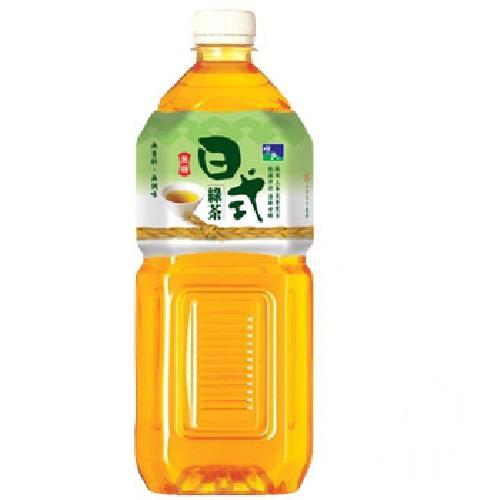 悅氏 日式綠茶-無糖(2000ml/瓶)[大買家]