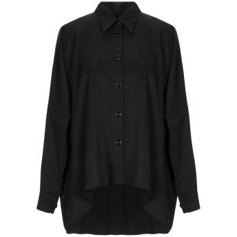 《セール開催中》MM6 MAISON MARGIELA レディース シャツ ブラック 40 100% ポリエステル