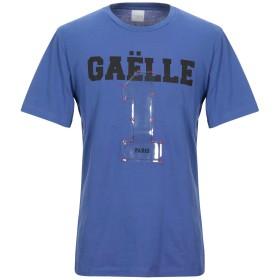 《セール開催中》GALLE Paris メンズ T シャツ パープル L コットン 100%