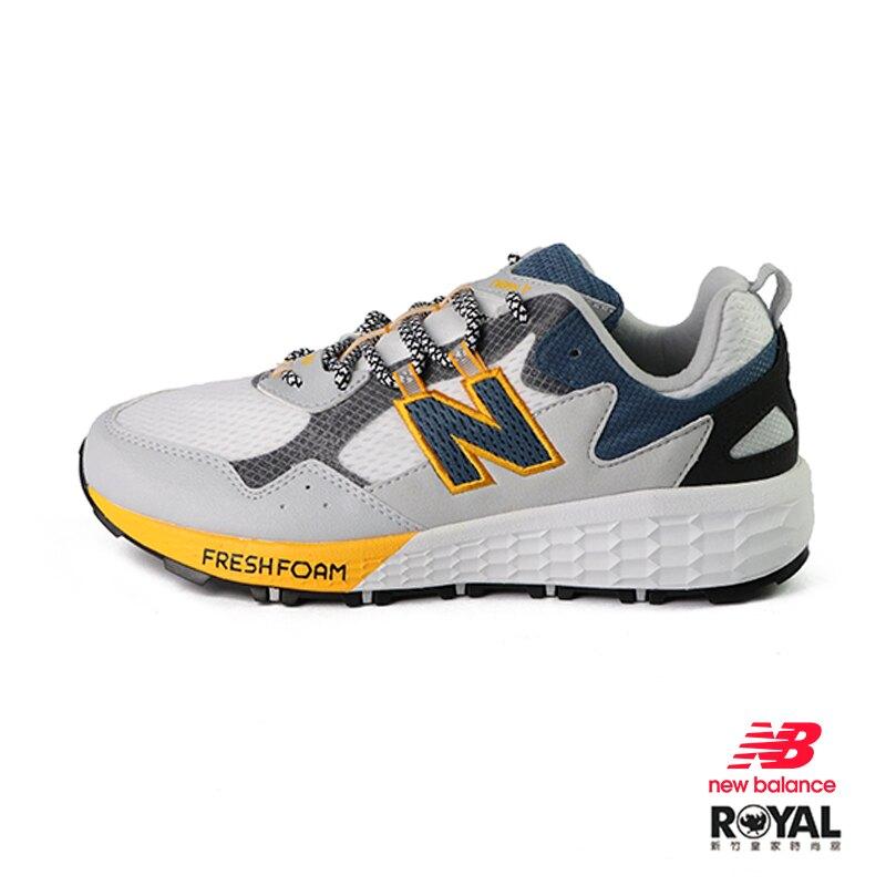 【滿額↘領券再折$150】New balance Fresh Foam 灰色 麂皮 2E楦 運動慢跑鞋 男款 NO.B1097【新竹皇家 MTCRGLW2】