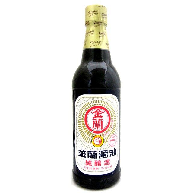 金蘭 醬油(PET瓶) 590ml【康鄰超市】