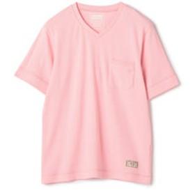 【メンズビギ:トップス】Health Knit別注VネックTシャツ