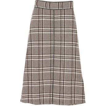 【6,000円(税込)以上のお買物で全国送料無料。】・RAY CASSIN チェック×パイピングスカート