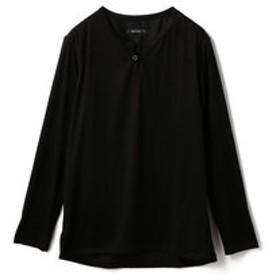 【メンズビギ:トップス】フェイクスウェードプルオーバーシャツ