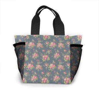 ロマンチックなバラ トートバッグ おしゃれ レディース バッグ 買い物バッグ ランチバッグ エコバッグ ハンドバッグ