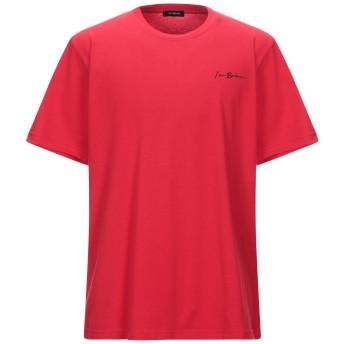 《セール開催中》IMB I'M BRIAN メンズ T シャツ レッド XL コットン 100%