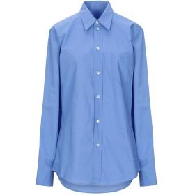 《セール開催中》MM6 MAISON MARGIELA レディース シャツ アジュールブルー 38 コットン 100%