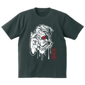 SAKAKI SHINOBI Tシャツ スミ