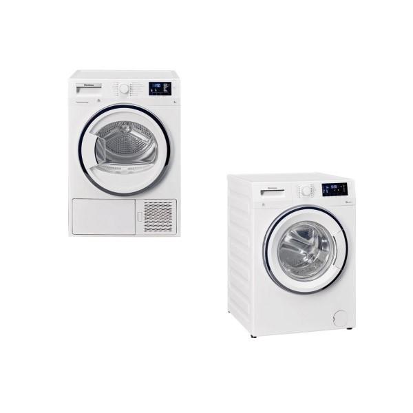 【BLOMBERG 博朗格】滾筒洗衣機+熱泵式滾筒乾衣機-電力型 WNF10320WZ+TPF8352WZ