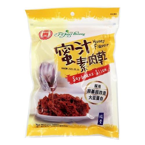 《富貴香》蜜汁素肉乾(純素)300G【愛買】