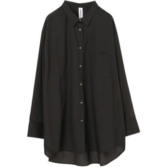 【6,000円(税込)以上のお買物で全国送料無料。】ビック抜け襟シャツ