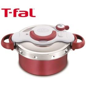 T-fal(ティファール)クリプソミニット デュオ レッド 4.2L 圧力鍋 IH対応 P4604236