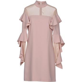 《セール開催中》PINKO レディース ミニワンピース&ドレス ローズピンク 42 100% ポリエステル