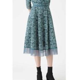 【JILL STUART:スカート】◆《Endy ROBE》メーガンレーススカート