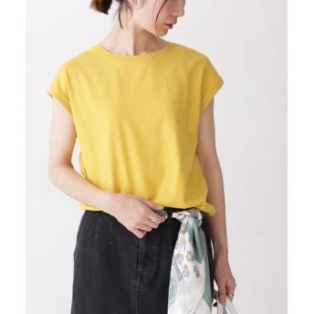 Anti Soaked フレンチスリーブTシャツ 5000円以上送料無料【公式/ナノ・ユニバース】