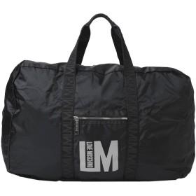 《セール開催中》LOVE MOSCHINO レディース 旅行バッグ ブラック 紡績繊維