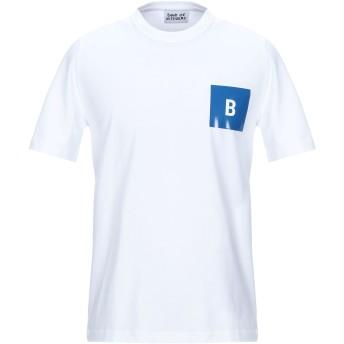 《セール開催中》BAND OF OUTSIDERS メンズ T シャツ ホワイト S オーガニックコットン 100%