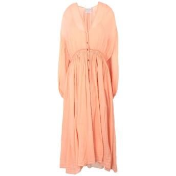 《セール開催中》FORTE_FORTE レディース ロングワンピース&ドレス あんず色 1 コットン 70% / シルク 30%