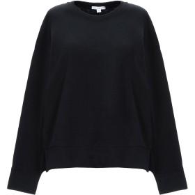 《セール開催中》JAMES PERSE レディース スウェットシャツ ブラック 0 コットン 100%