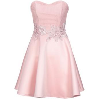 《セール開催中》LIPSY レディース ミニワンピース&ドレス ピンク 8 ポリエステル 95% / ポリウレタン 5%