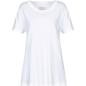 《セール開催中》CURRENT/ELLIOTT レディース T シャツ ホワイト 3 コットン 100%