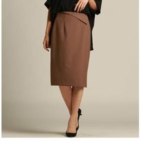 【J Lounge:スカート】ラフクレープツイルスカート