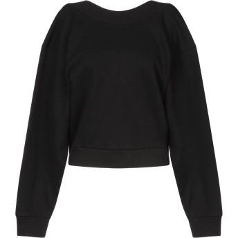 《セール開催中》MAURO GRIFONI レディース スウェットシャツ ブラック XS コットン 100%